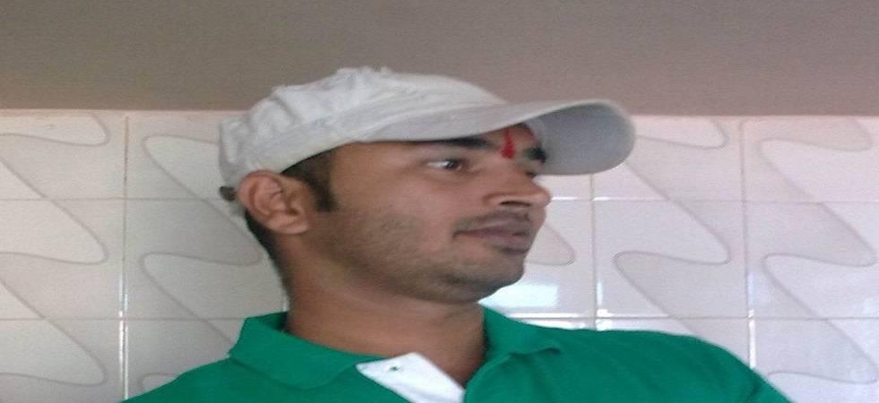 Sanatan Sanstha member Vaibhav Raut (Photo- Twitter/@sandhyanairTOI)