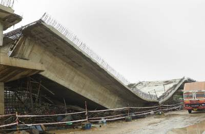 Basti, Siliguri flyovers collapse: Many feared trapped, rescue operation underway