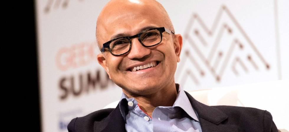 Microsoft's Indian origin CEO Satya Nadella has netted over $ 35 million (Photo:Twitter/@ShortTreasuries)