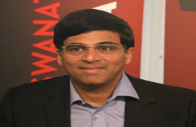 Anand tied fourth after first day of rapid chess