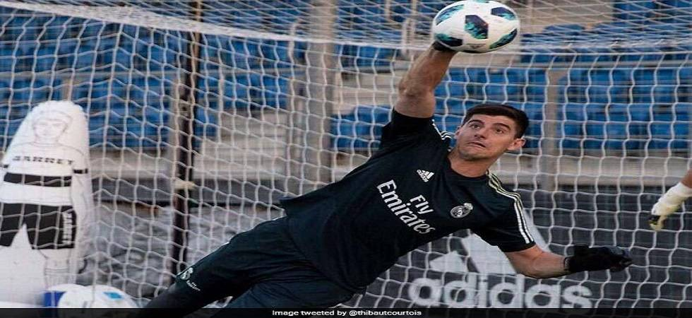 Family only reason Courtois moved to Real Madrid says agent ( Photo: Twitter/ @breakingnewshe1 )