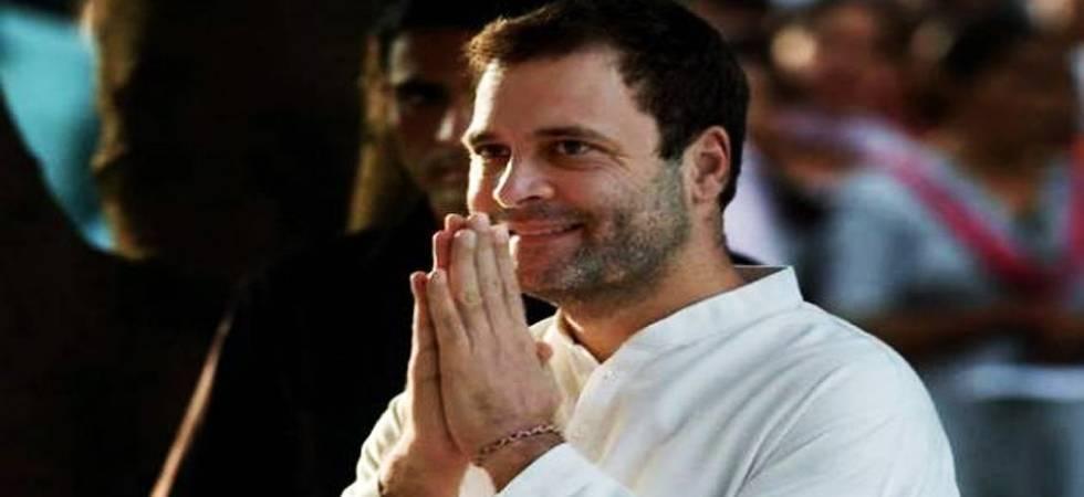 Rahul to visit Telangana tomorrow; to meet SHGs, students (File Photo)