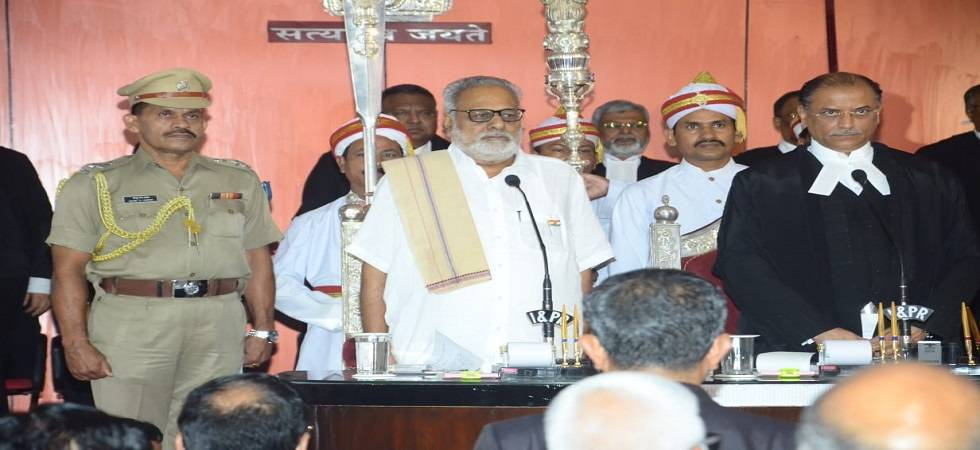 Justice Jhaveri takes charge as Chief Justice of Odisha High Court (Photo- Twitter)