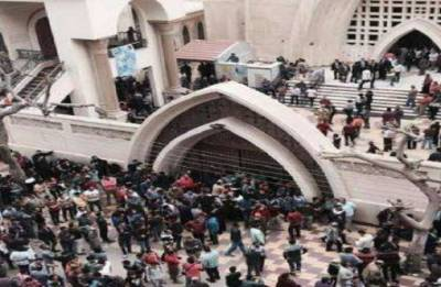 Attempted suicide attack on Egypt church foiled: state media