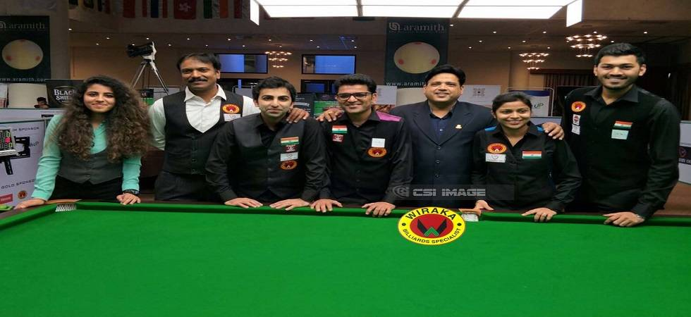 Ashok Shandilya and Rupesh Shah to lead the Billiards Classic from Monday ( Photo: Twitter/ @cuesportsindia )