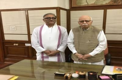 Advani: Somnath an inspiration for upcoming parliamentarians