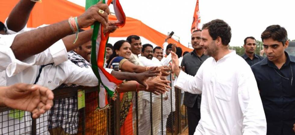 Rahul Gandhi in Telangan: Cong chief to meet Self Help Groups (Photo Source: Congress Twitter)