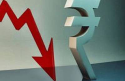 Rupee falls 79 paise to record low of 69.62 against Dollar
