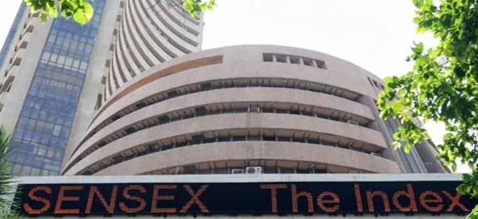 Sensex surges on macro boost, global cues (File photo)