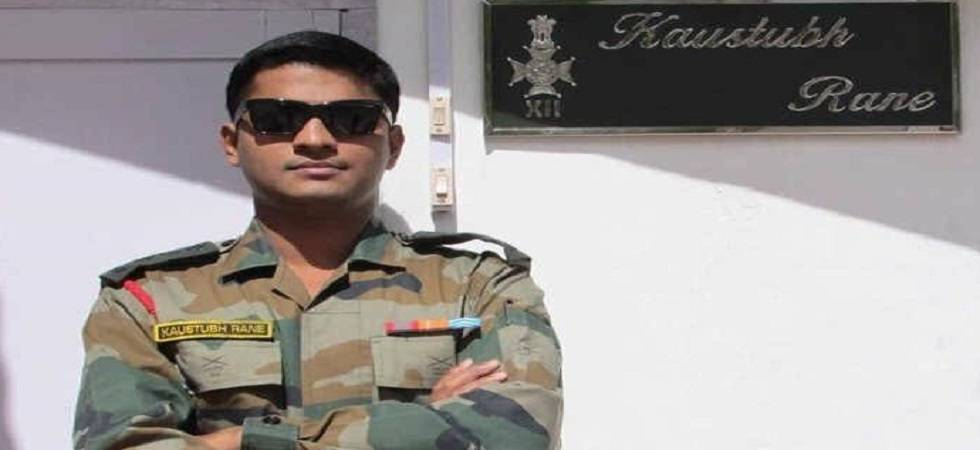 Posthumous state award for Major Rane handed over to family (Photo- Twitter)