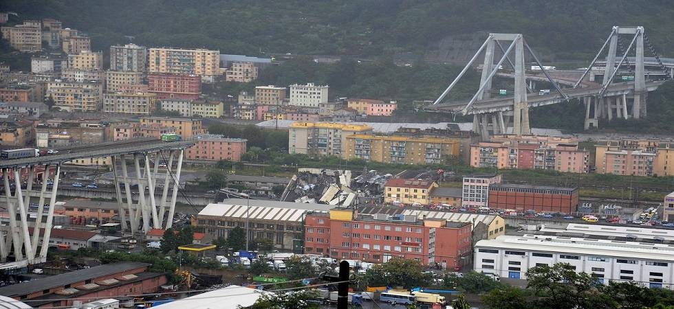 Genoa Bridge collapse: Anger grows in Italy as bridge toll rises to 39 (Photo- Twitter/@Italy)