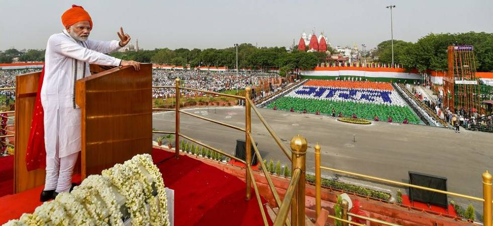 Independence Day 2018: PM Modi speaks of India's rise under BJP government (Photo Source: PTI)