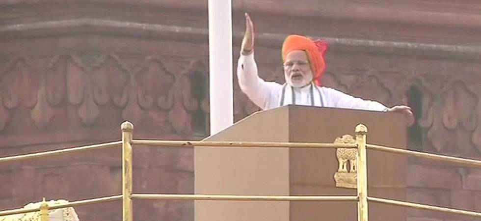 Independence Day 2018 LIVE: PM Modi pledges house, water, health, power, connectivity for all (ANI Photo)