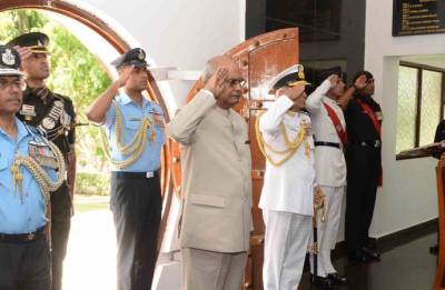 President Ram Nath Kovind watches 'President's Bodyguard' – a relentless pursuit of perfection