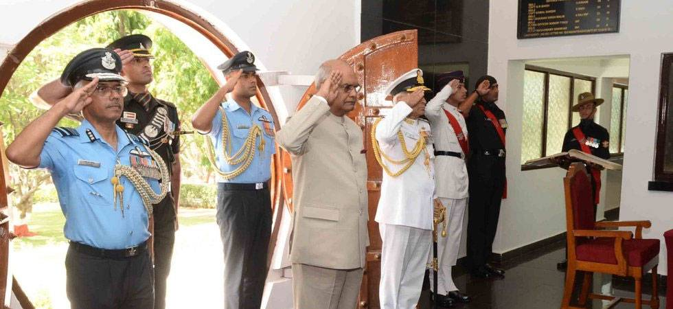 President Ram Nath Kovind watches President's Bodyguard at a special screening of the documentary at the Rashtrapati Bhavan on August 15, 2018 (PHOTO: Twitter)
