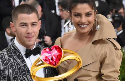 Priyanka Chopra confirms engagement with Nick Jonas, flaunts ring at a party