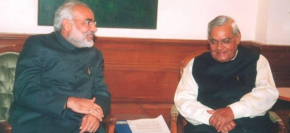 PM Modi lays bare emotions in soul-stirring blog on Atal Bihari Vajpayee (Photo: Facebook/Narendra Modi)