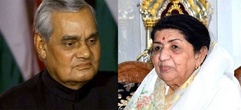Watch Lata Mangeshkar's musical tribute to Atal Bihari Vajpayee: 'Than gayi maut se....'  (Twitter)