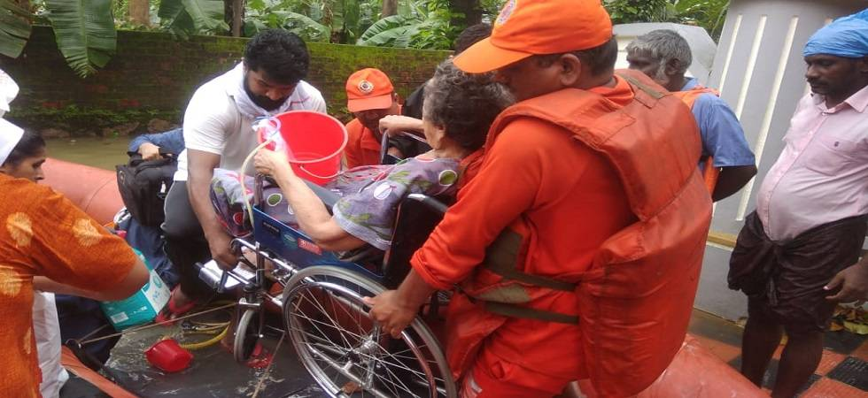 NDRF launches biggest-ever operation in flood-hit Kerala; 58 teams deputed (Photo- Twitter/@NDRFHQ)