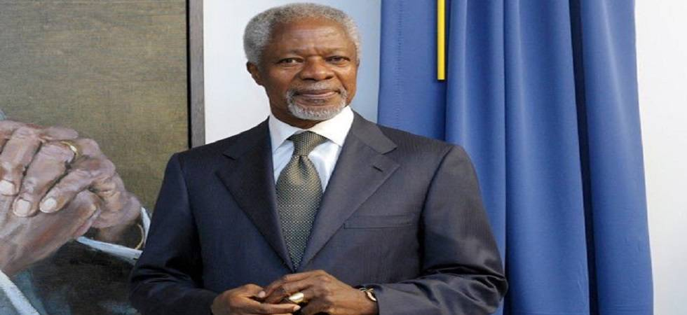 Kofi Annan no more: World leaders pay tribute to 'Epitome of human decency and grace' (Photo: Twitter)