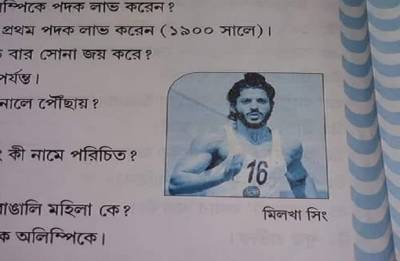 West Bengal textbook depicts Farhan Akhtar as Milkha Singh