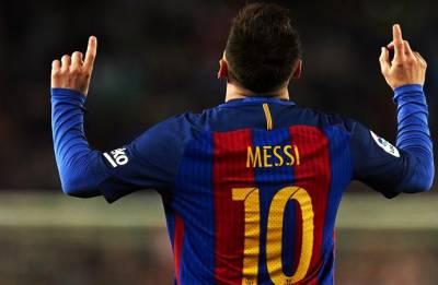 Lionel Messi scores Barcelona's 6,000th league goal