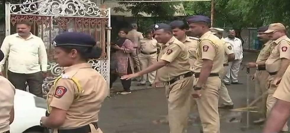 Narendra Dabholkar murder case: Main accused Sachin Prakasrao Andure being produced before Pune Court on Sunday (Photo: Twitter/ANI)