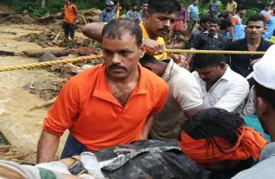 Karnataka Floods: 4,300 people rescued in Kodagu; scores still stranded