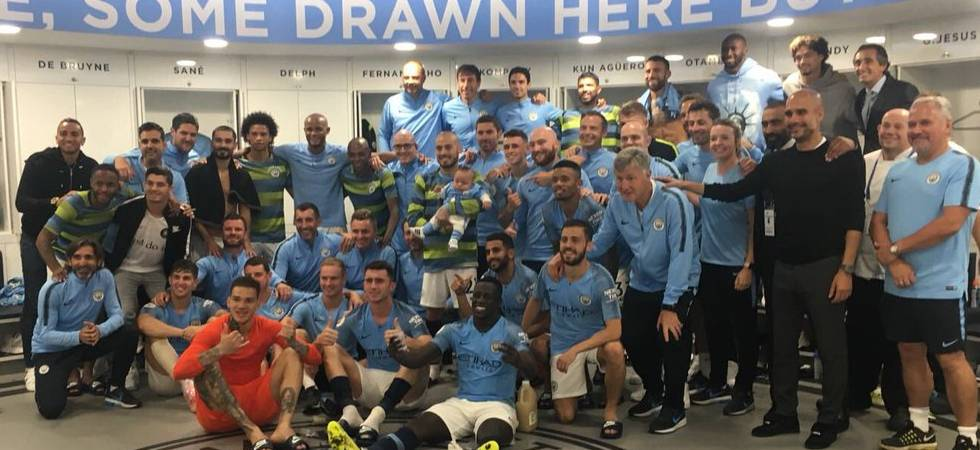 Benjamin Mendy's special tweet for David Silva's son Mateo (Photo: Twitter)