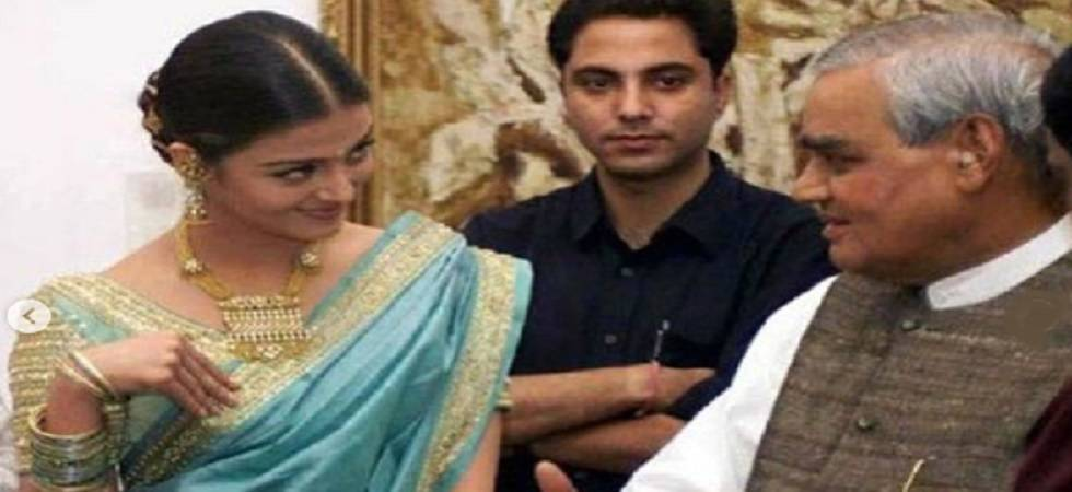 Aishwarya Rai Bachchan shares throwback pic with late PM Atal Bihari Vajpayee