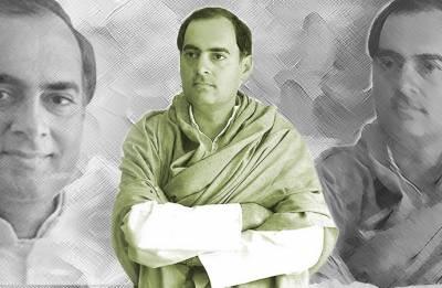 Did little Rajiv Gandhi know about Mahatma Gandhi's assassination