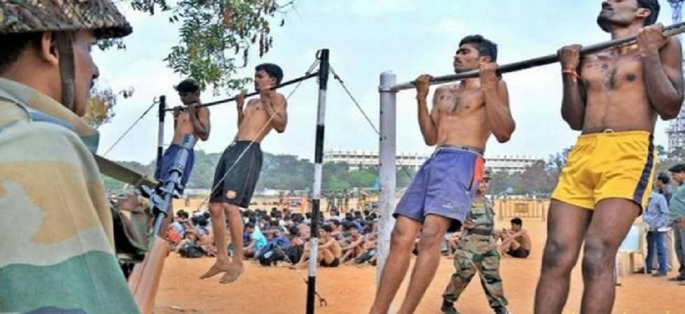 Army recruitment for Vidarbha region in Amravati in October 2019 (File Photo)