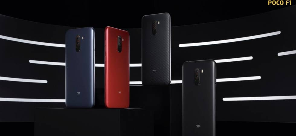 Xiaomi's latest Poco F1 launched in India (Photo: Twitter/POCO India)