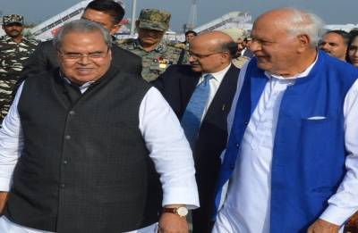 Satyapal Malik to take oath as Jammu and Kashmir Governor tomorrow