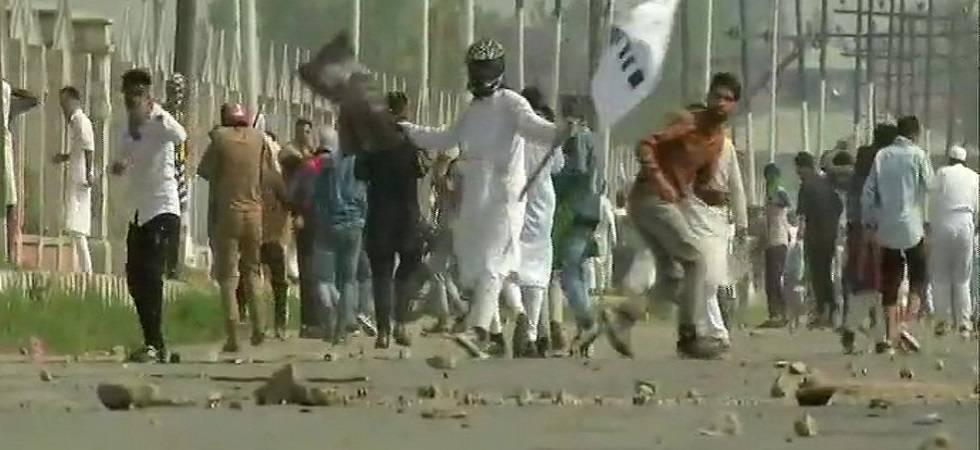 Jammu and Kashmir: Violence mars Bakrid celebrations in militancy-hit state; cop shot dead (Photo: Twitter/ANI)