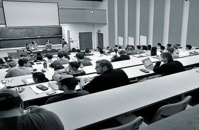 Seating position in lecture halls can affect grades