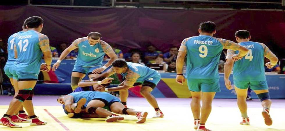 Asian Games 2018: Indian Men's Kabaddi team defeated by Iran, settle for bronze medal (Photo: Twitter)