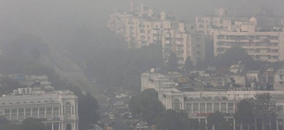 'Air pollution reduces lifespan by over one year' (file photo)