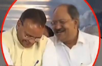 Video shows BJP Chhattisgarh ministers laughing at condolence meet for Vajpayee