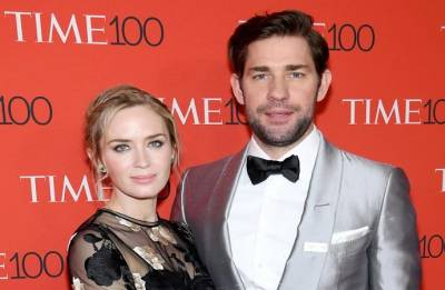 John Krasinski attributes his success to wife Emily Blunt