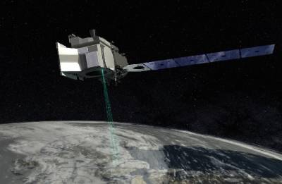 NASA launching laser-armed satellite to study earth's melting ice
