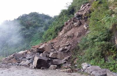 Assam police constable killed in landslide