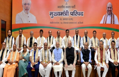 PM Modi, Amit Shah meet BJP chief ministers; likely to discuss 2019 polls agenda