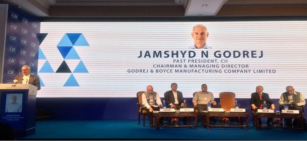 Godrej & Boyce Chairman, Jamshyd N Godrej (Photo- Twitter/@FollowCII)