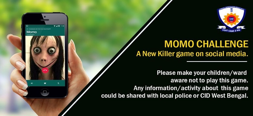 Momo Challenge: Most messages inviting to play the new killer game 'fake', says CID (Photo: Twitter/@CIDWestBengal)