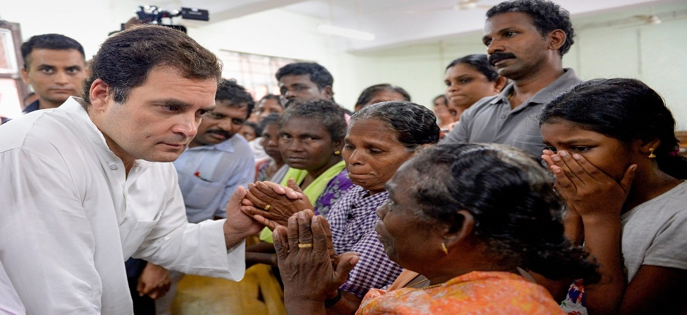 Rahul Gandhi in Kerala: Congress chief reaches flood-ravaged state (Photo Source: Twitter)