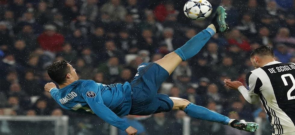 Cristiano Ronaldo wins UEFA Goal of the Season for overhead kick vs Juventus (Photo: Twitter)