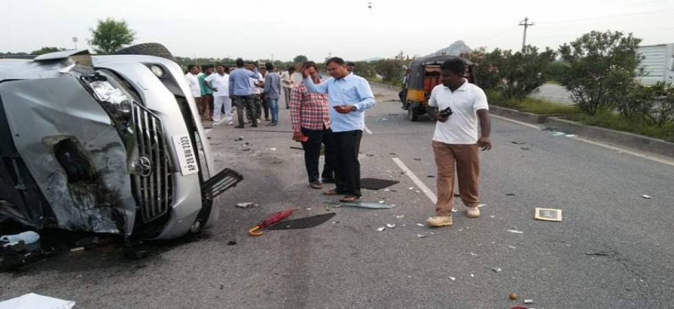 Nandamuri Harikrishna, actor and TDP leader dies in car accident (Photo Source: Twitter)