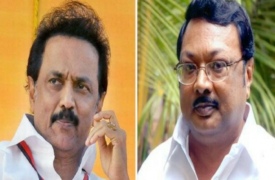 Azhagiri says brother Stalin standing in his way back to DMK