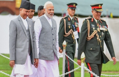 PM in Nepal: Narendra Modi  arrives at inaugural session of 4th BIMSTEC Summit